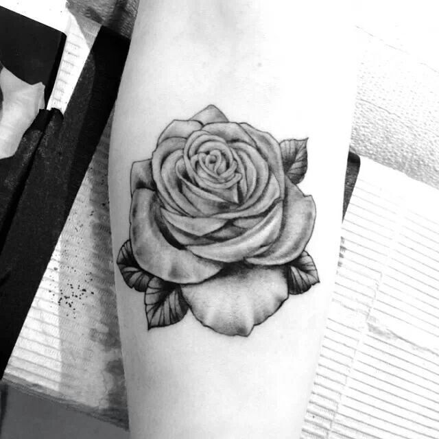 Realistic Single Rose Tattoo: Pinterest: Discover And Save Creative Ideas