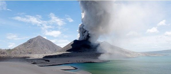 Papua New Guinea Volcano Erupts, Forcing Locals To Evacuate