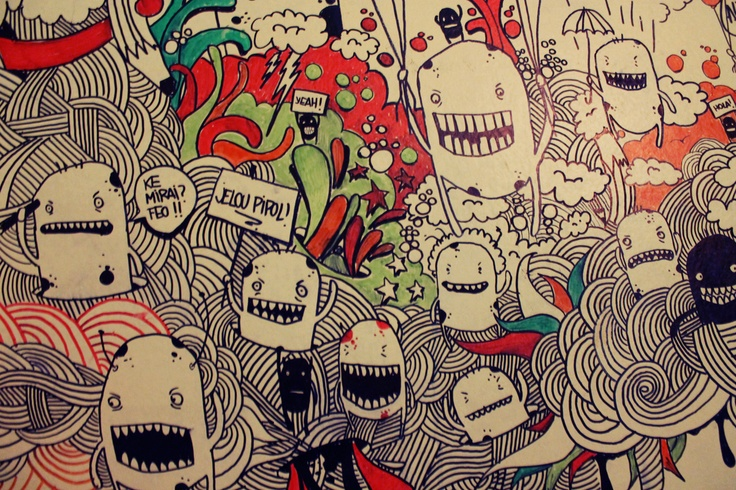 Doodle in SoulCocinaBar