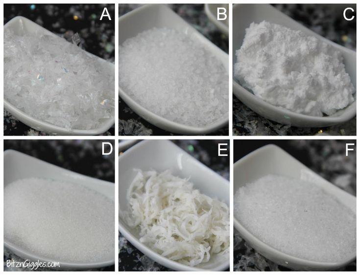Best fake snow ideas on pinterest recipe for