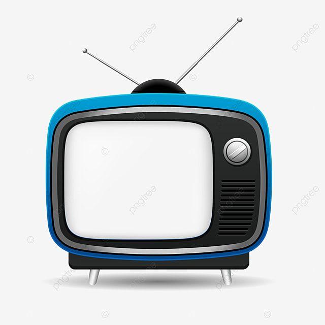Gambar Kartun Biru Televisi Gaya Lama Retro Vintage Tv Vektor Layar Transparan Clipart Tv Televisi Televisi Png Dan Vektor Dengan Latar Belakang Transparan U Vintage Tv Blue Poster Vintage Television