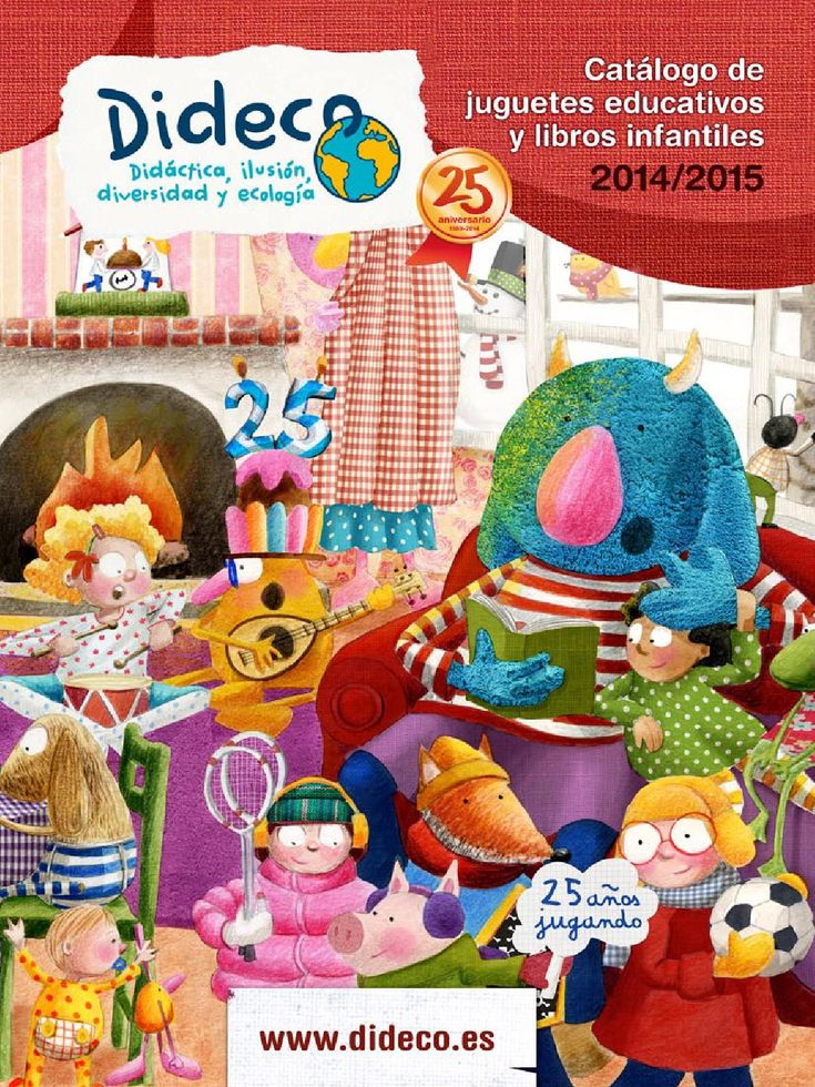 Catalogo juguetes educativos y libros infantiles 2014/2015 by Dideco - issuu
