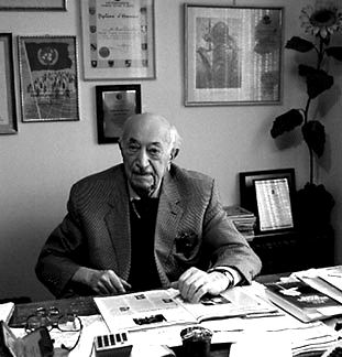 Simon Wiesenthal helped catch some of the main Nazi war criminals such as Franz Stangl