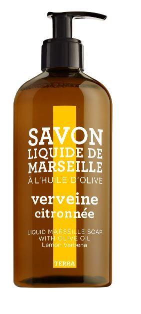 Savon Liquide de Marseille Citroen - Vebena  De frisse geur van citroen verbena, oranje bloesem, geranium en witte bloemen.  Een rijk schuimende zeep maakt de huid soepel en droogt  de huid niet uit niet. Geschikt voor ieder huidtype. http://www.o-lijf.com/a-38332610/compagnie-de-provence/savon-liquide-de-marseille-citroen-vebena/