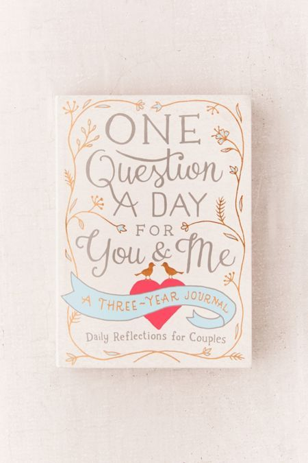 58b21d980b7ae One Question a Day for You   Me  A Three-Year Journal By Aimee Chase ...