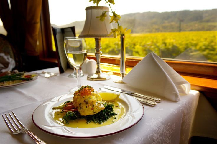 NAPA VALLEY WINE TRAIN | Experience the beauty of Napa on a beautifully restored rail car. The new Quattro Vino Tours feature incredible fine dining, wine tastings, and stops at various iconic Napa wineries