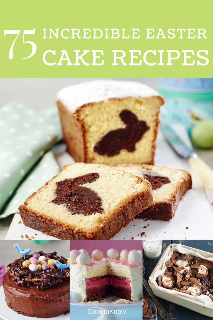 Looking for Easter recipes to finish off your Easter lunch? Well, how about our Easter cake recipes? We've got 75 beautiful bakes to choose from and they're much easier to make than they look - we promise!