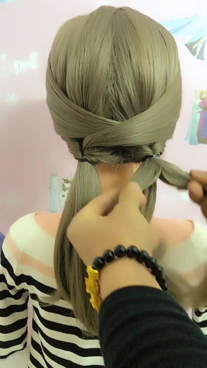 Plus de 30 vidéos de coiffures de tresses faciles