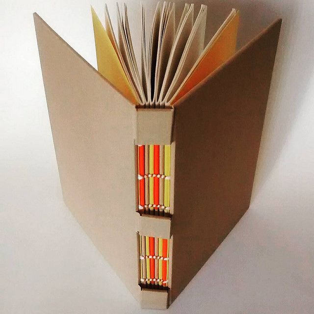 handbound book by Gabriela Irigoyen