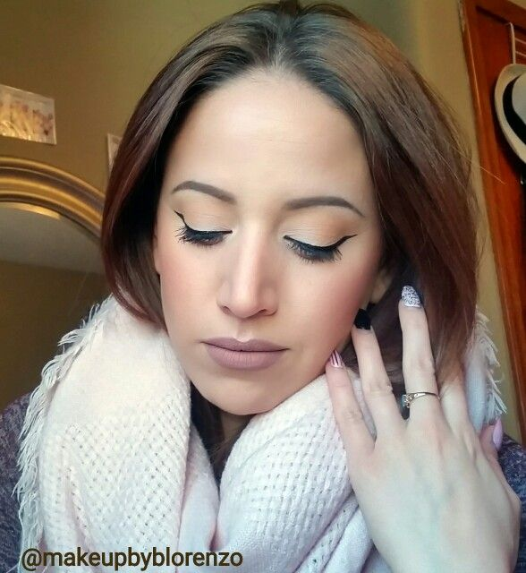 Natural everyday look Instagram  @makeupbyblorenzo