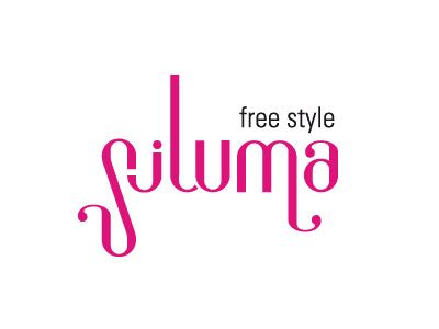 Siluma hair stylist / logotype Project: design type Graphic designer: Andrea Orazzo #type #brand #logo #logotype
