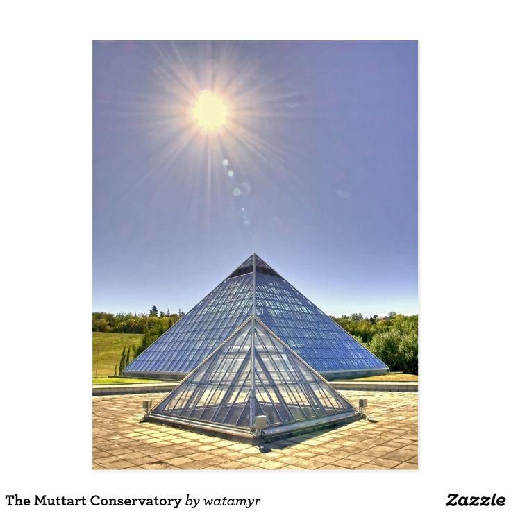 The Muttart Conservatory Postcard