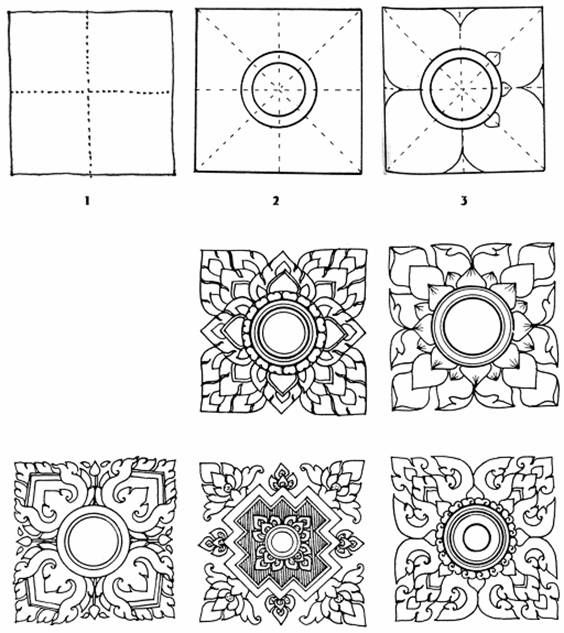Thai Style basic pattern