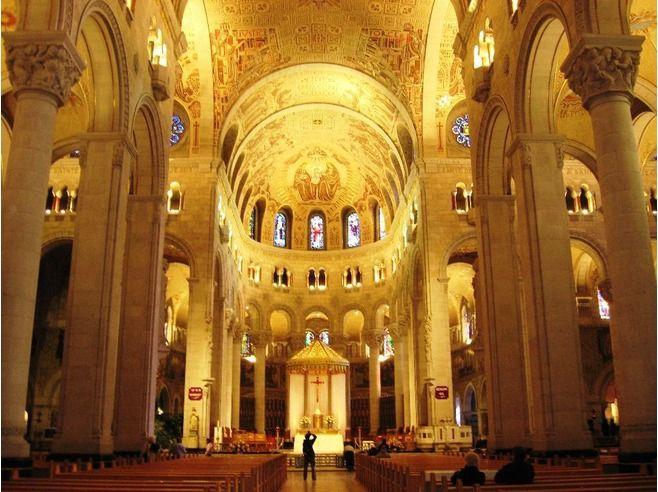 Beautiful St Anne de Beaupre Basilica