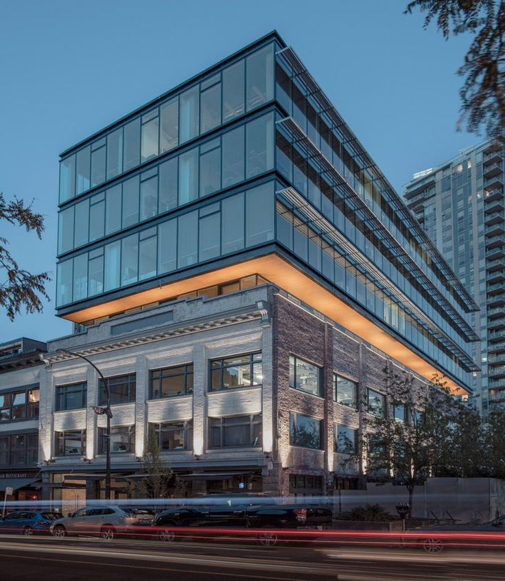 Carscadden Stokes McDonald Architects Inc 564 BEATTY revitalization modern addition over heritage photography by Sham Sthankiya