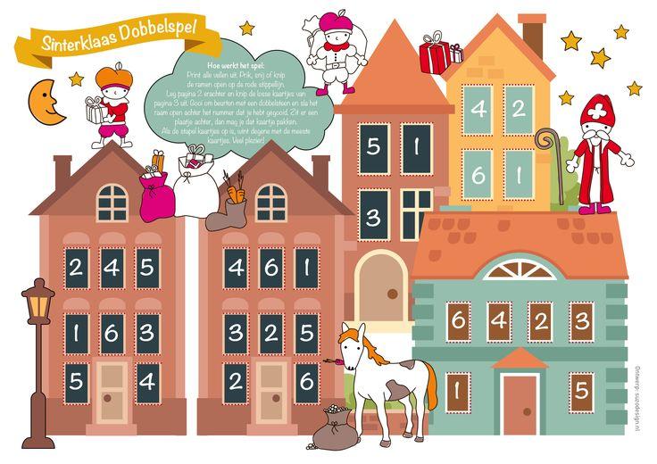 Gratis Printable Sinterklaasspel voor kinderen