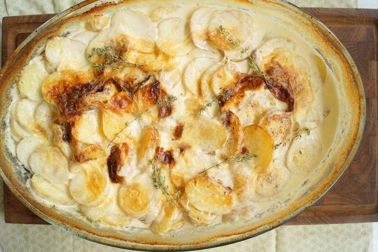 Flødekartofler - den bedste og nemmeste opskrift.