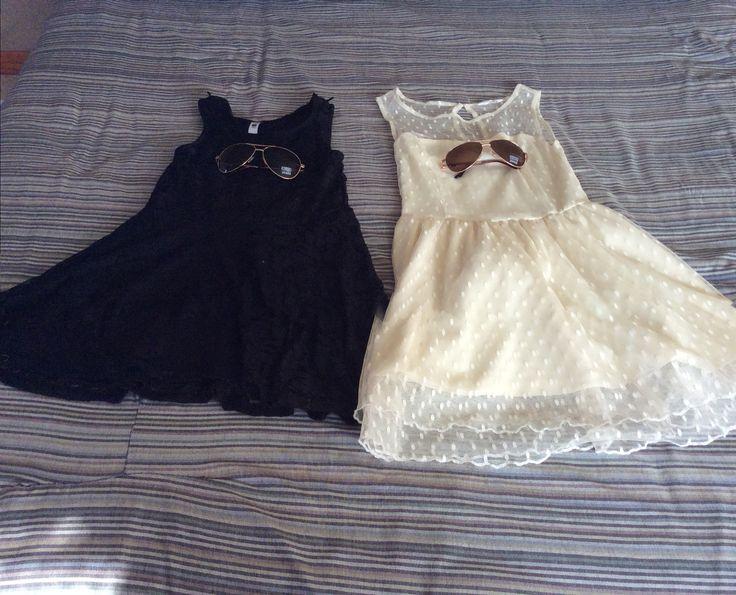 Mine and malaikas dresses