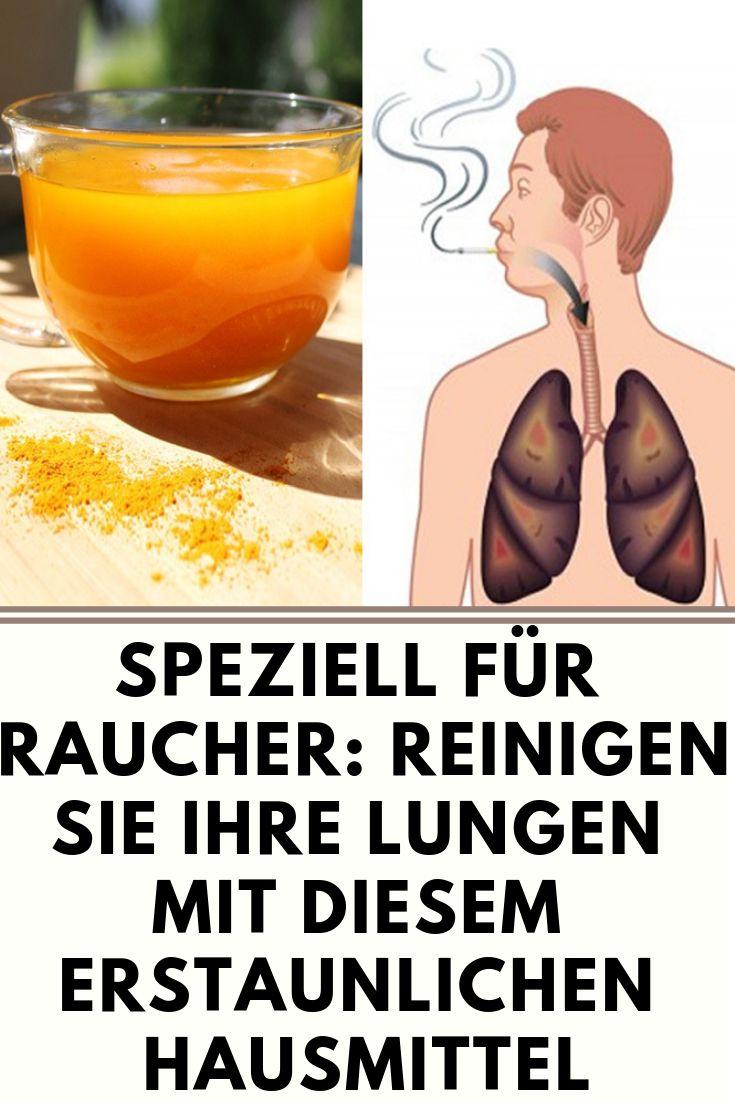 Speziell für Raucher: Reinigen Sie Ihre Lungen mit diesem erstaunlichen Hausmittel  – Guentherkrick