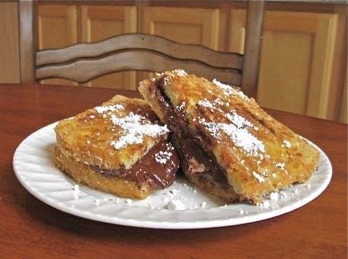 Smores French Toast - Smores Recipe - George Foreman Grill Recipes