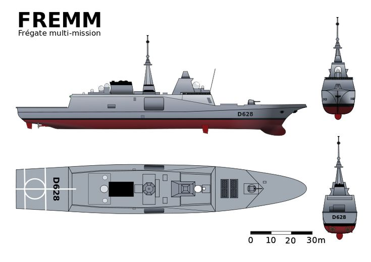 FREMM-DCN - Marina nacional de Francia - Wikipedia, la enciclopedia libre