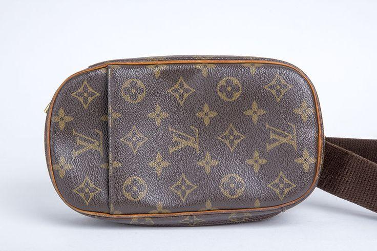 Auth LOUIS VUITTON Monogram Pochette Gange Cross Bag M51870 #LouisVuitton #ShoulderBag