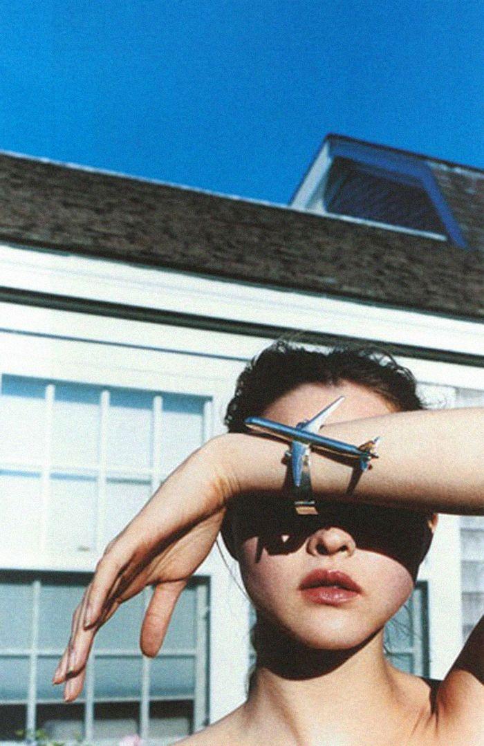 Airplane cuff. Devon Aoki.