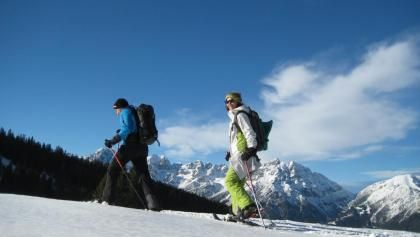 Schneeschuhwandern im Zillertal: die schönsten Touren im Schnee
