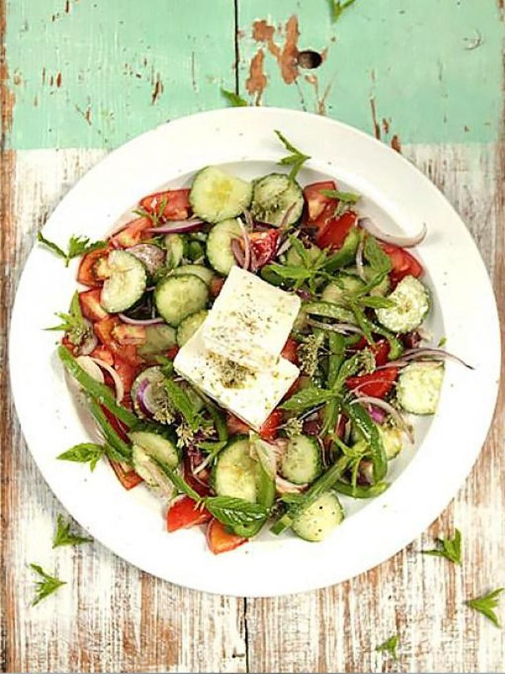 Greek Salad Recipe | Vegetables Recipes | Jamie Oliver Recipes