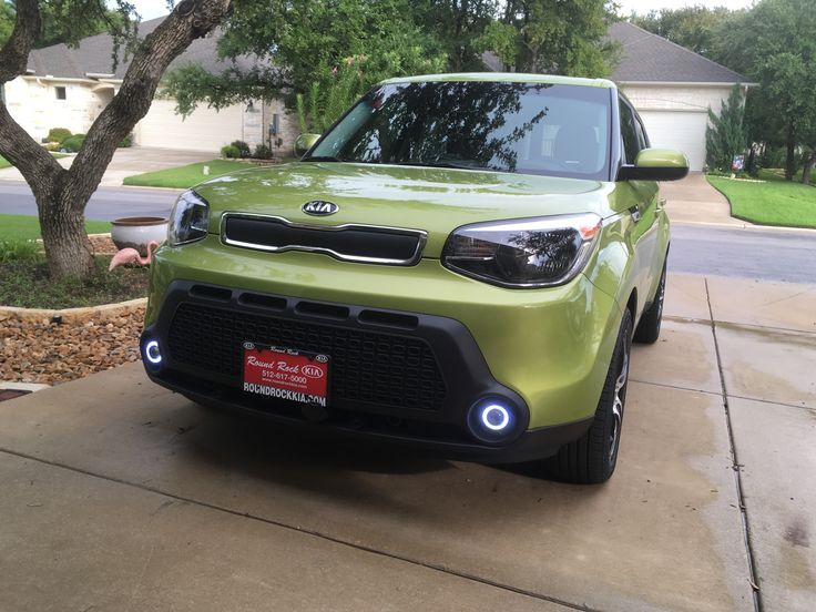 2016 Kia Soul Wit Halo Led Fog Lights