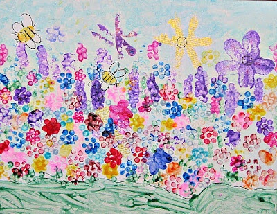 Holly Bloom's Garden: Garden Painting | Craft To Art