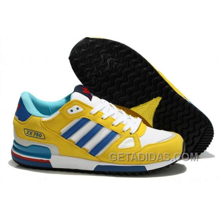 Adidas Zx750 Women Yellow White Blue For Sale