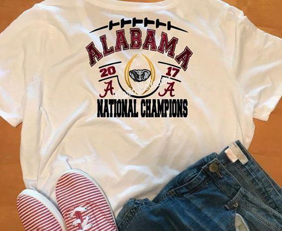Alabama  Alabama shirt  National championship  2017 shirt