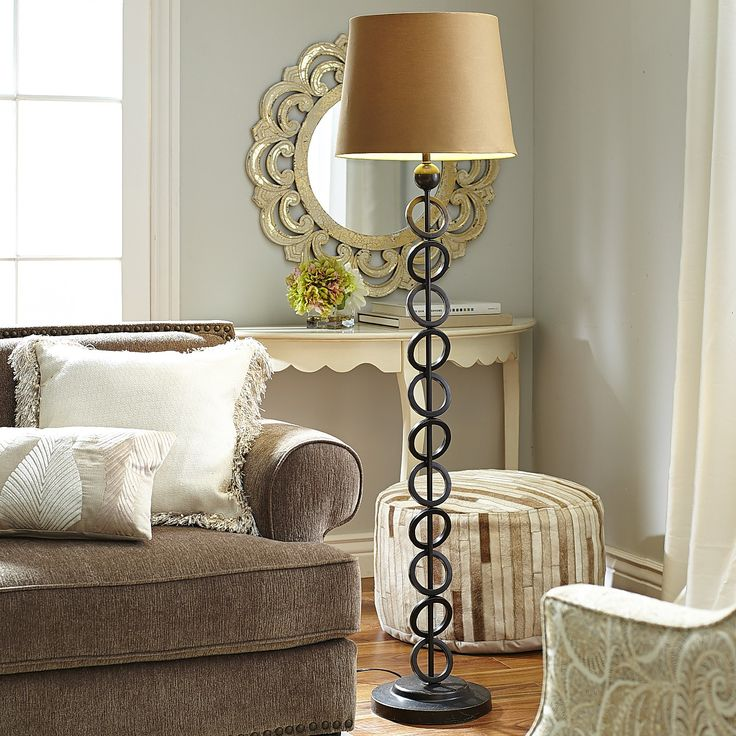 Iron Rings Floor Lamp