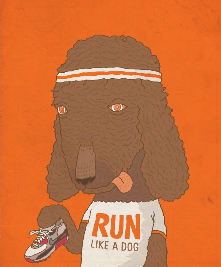 I just wanna run - illust by CHOPONS