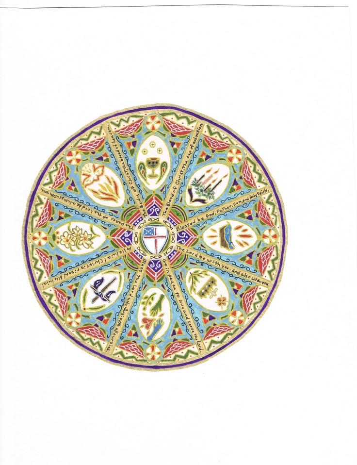 23 Best Episcopal Symbols Images On Pinterest My Love Baking