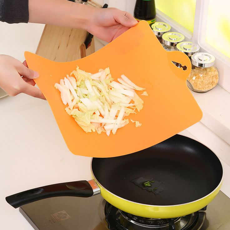 Antibacterial Kitchen Tools Creative Plastic Cutting Board Food Slice Cut Portable Camping Outdoor Chopping Cooking Mat Tool