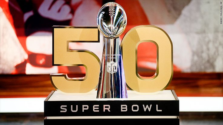 The NFL recently decided to change the Super Bowl logo to Arabic numerals instead of Roman numerals. This was because the NFL thought that it would differentiate the 50th Super Bowl from previous ones. The numbers on the trophy are n ow gold instead of silver and the yard lines will also be gold. The 50th Super Bowl will be held in Levi's Stadium in Santa Clara, California.