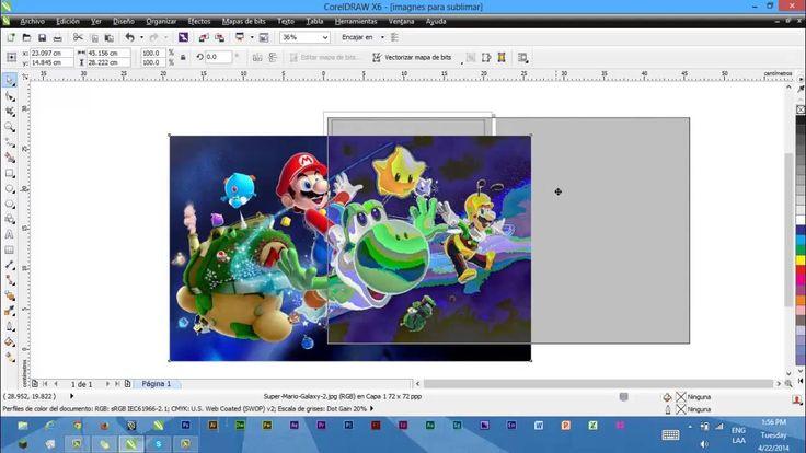 Imprimir imagenes para sublimar desde corel