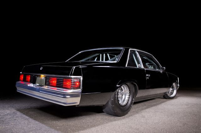 14 1980 Chevy Malibu Rear View