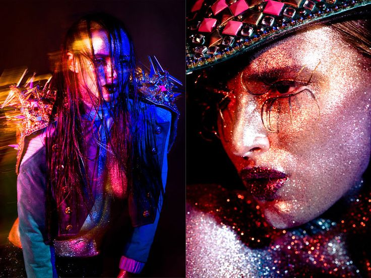 "colour burst - Photographer Edu Gómez captures Glassbook Magazine's ""Colour Burst"" beauty story. The visually vivid editorial features mo..."