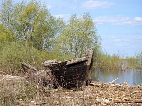 g2gg2g.61 — «Устрека, 1499г. Озеро Ильмень. Старая лодка» на Яндекс.Фотках