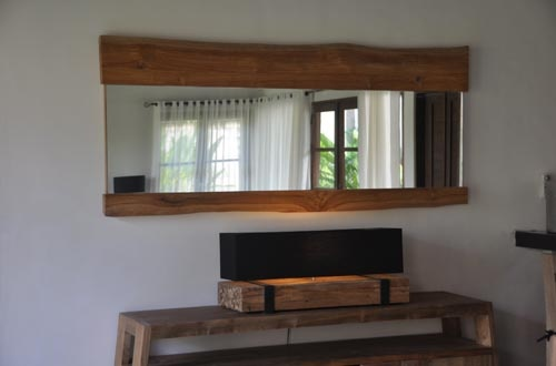 Quality furniture in recycled teak rustic natural finish