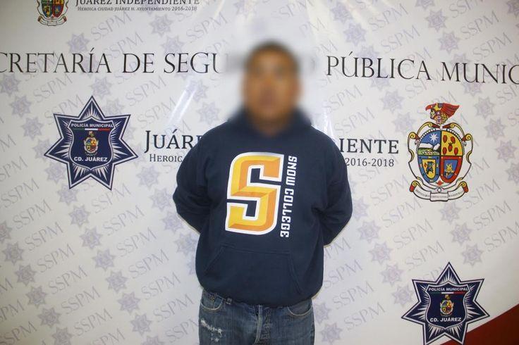 Tras discusión amenazó de muerte a su vecino, logran detenerlo en Juárez | El Puntero