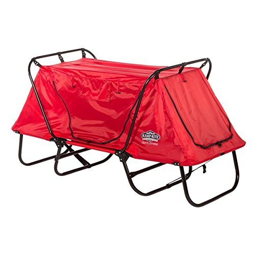 Kamp-Rite Red Kid's Tent Cot With Rain Fly, Includes Carry Bag ** You can get more details here : Air Lounges