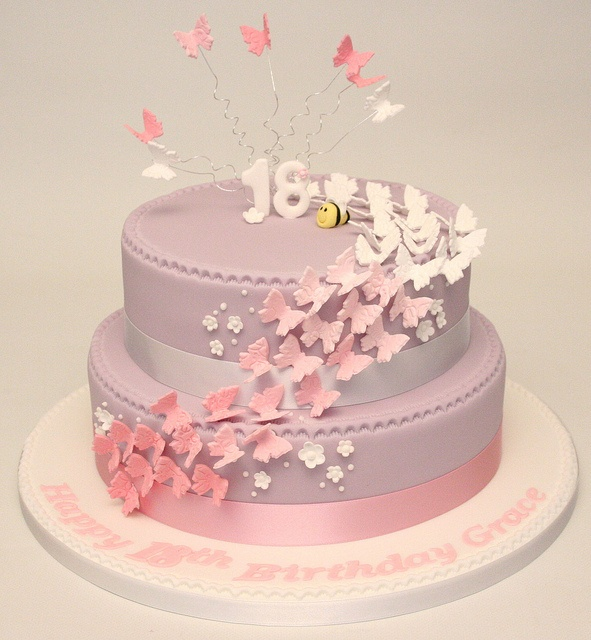 18th Butterfly cake by allaboutcake, via Flickr