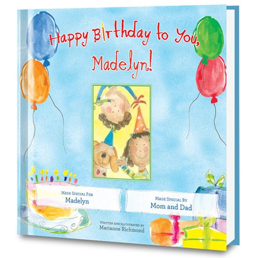 Celebrate a special birthday with this Happy Birthday to You! Personalized Book!