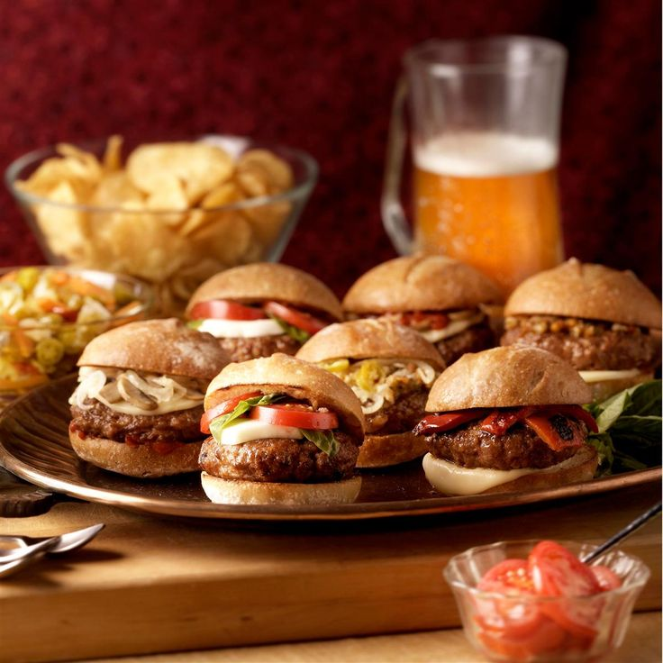 Johnsonville Italian Sausage Sliders Recipe -Take the all the greatness of the humble slider and add an Italian kick with…