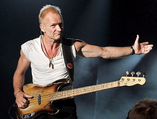 Sting The Police reunion tour 2007. #sting #thepolice
