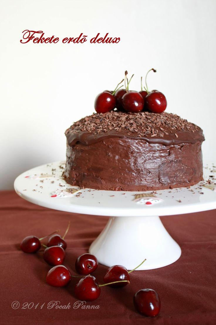 Delux paleo ganázs torta #paleo #glutenfree #chocolate